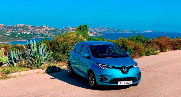 Vi har testet den nye Renault Zoe, og den er et hakk opp fra den forrige versjonen. (Alle foto: Nybiltester)
