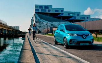 Nye Renault Zoe har fått 5 kilometer ekstra rekkevidde. (Alle foto: Renault)
