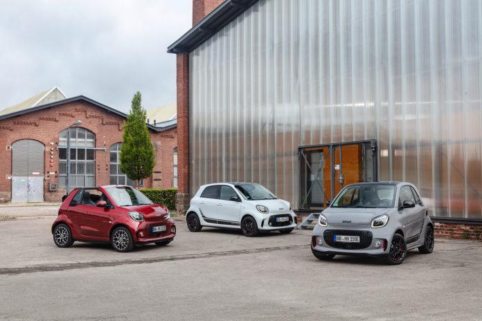 Smart kommer nå med en ny generasjon, og nå er de kun elektriske. (Alle foto: Daimler)