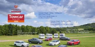 De beste bilene til å trekke campingvogner er kåret. (Alle foto: CAMC)