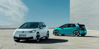 Her er Volkswagens svar på Golf, elbilen ID. 3. (Alle foto: VW)