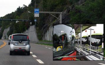 Yrkestrafikkforbundet vil ha elbilene ut av kollektivfeltet. (Foto: Bil24/ Yrkestrafikkforbundet)