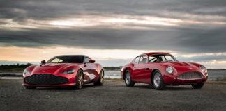 Aston Martin har vist fram superprosjektet DBZ Centenary Collection. (Alle foto: Aston Martin)