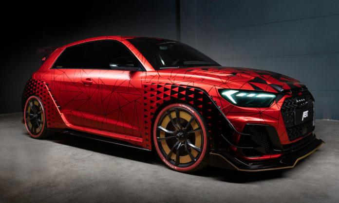 Kulere Audi A1 enn dette skal du lete lenge etter. (Alle foto: ABT)