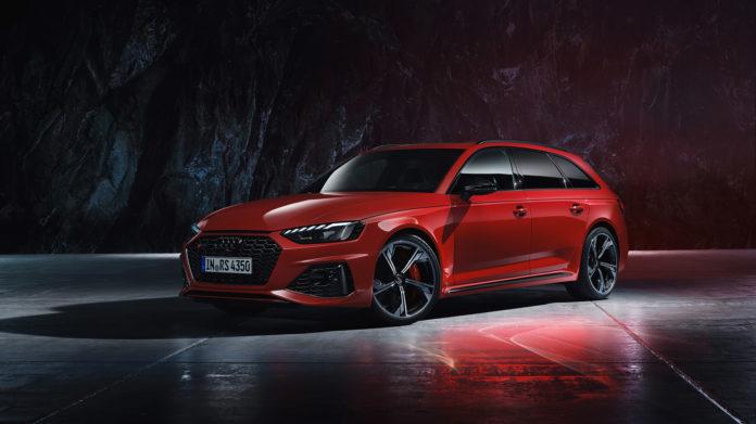 Audi oppgraderer nå RS 4 Avant. (Alle foto: Audi)