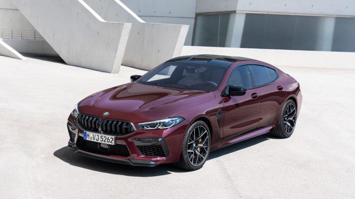 BMW gjør nå M-familien i 8-serien komplett, og introduserer BMW M8 Gran Coupé. (Alle foto: BMW)