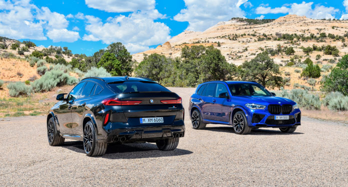 Nå kommer BMW med nye X5 M og BMW X6 M, inkludert Competition-utgaver. (Alle foto: BMW)