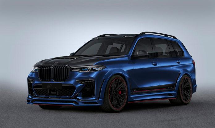 Lumma har kastet seg over den nye BMW X7, og resultatet er en langt røffere bil. (Alle foto: Lumma)