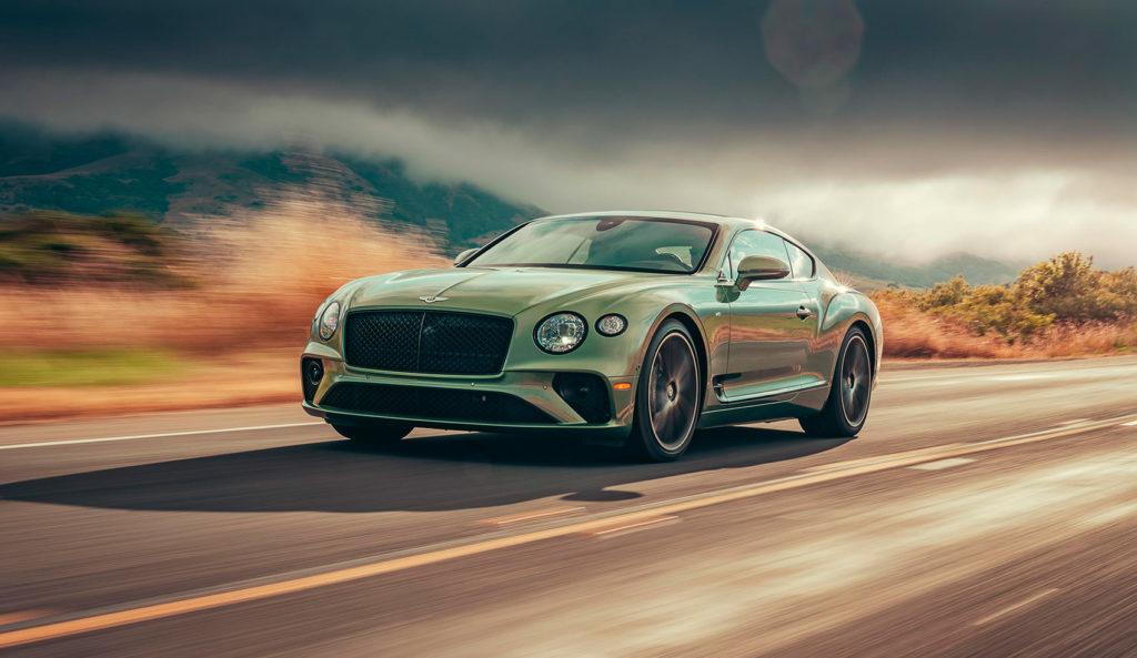 Dette er litt av en bil, Bentley Continental GT V8. (Foto: Bentley)