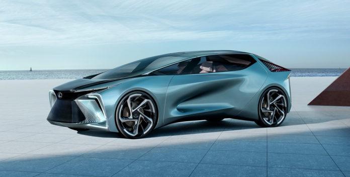 Lexus viser nå et framtidskonsept kalt LF-30 Electrified. (Alle foto: Lexus)