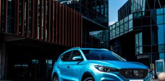 MG gjør seg klar til å innta Norge, og det skal de gjøre med en rimelig elektrisk SUV kalt ZS EV. (Alle foto: MG)