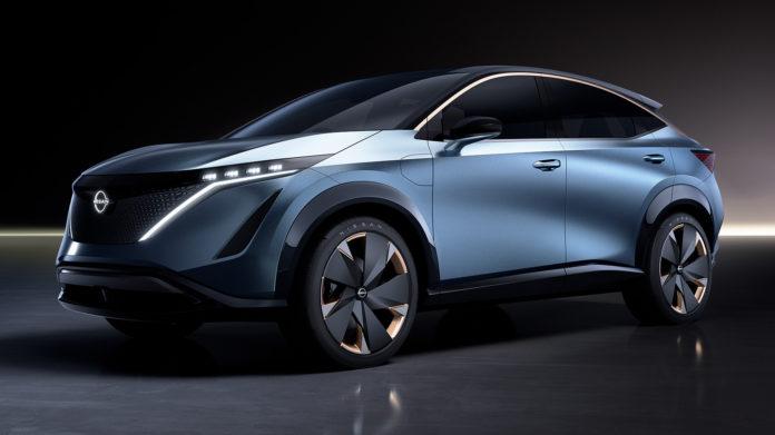 Nissan viser fram et nytt elbilkonsept. (Alle foto: Nissan)