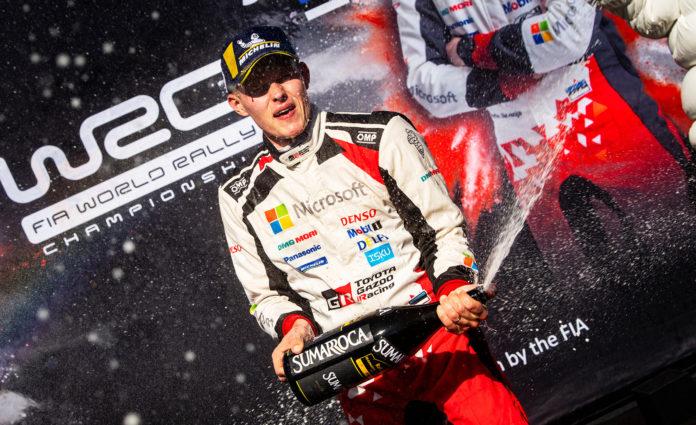 Ott Tänak ble den første som klarte å bryte seiersrekken til franske førere med fornavnet Sébastien i rally-VM på 15 år. (Alle foto: Red Bull)