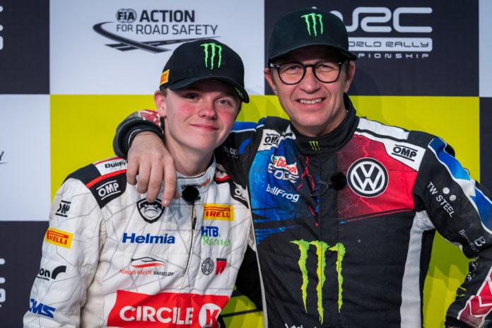 Petter Solberg er blant tidendes mest populære rallyførere, og han avrundet karrieren med stil. Nå skal sønnen Oliver ta over stafettpinnen. (Alle foto: Volkswagen)