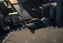 Porsche skal sammen med Boeing utvikle et konsept med en elektrisk passasjer-drone. (Begge foto: Porsche/Boeing)