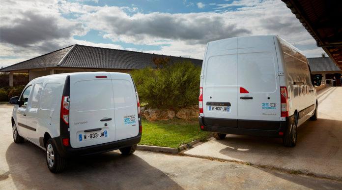 Renault har nå klare to modeller som går på hydrogen. (Alle foto: Renault)