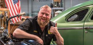 Tommy Larssen kan med all grunn heve tommelen, for årets Oslo Motor Show ble tidenes beste målt i antall besøkende. (Foto: OMS)