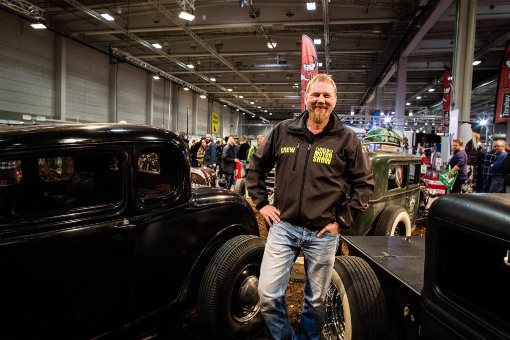 Tommy Larssen har mye å by på under årets Oslo Motor Show. (Foto: OMS)