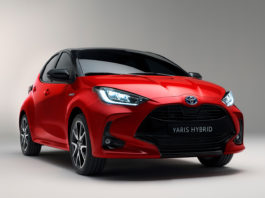 Nye Yaris blir den første modellen bygd på GA-B-plattformen. (Alle foto: Toyota)