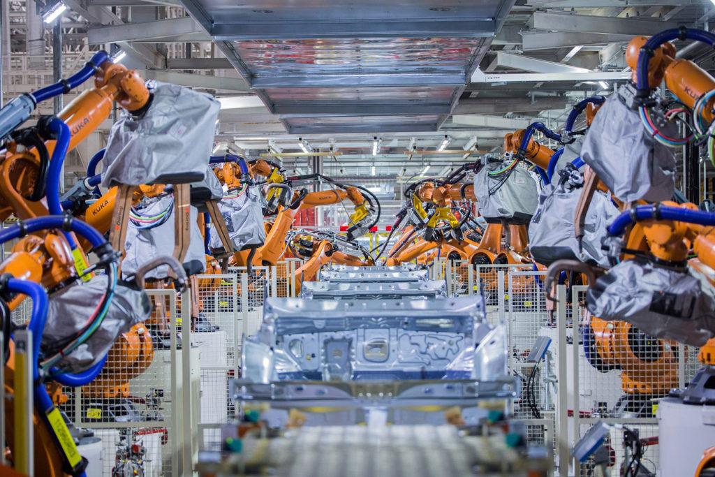 Dette er fabrikken i Foshan.
