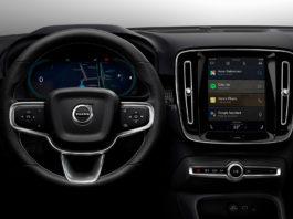 Den elektriske XC40 blir den første bilen som er fullt integrert med Googles Android-system. (Alle foto: Volvo)
