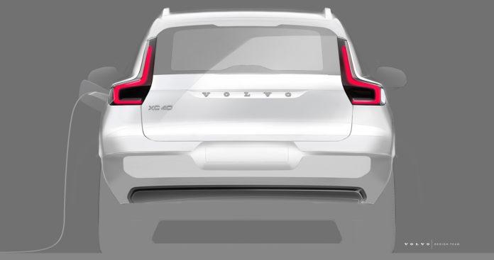 Det er stor interesse for elbilversjonen av Volvo XC40, som ikke blir en helt eksakt utvendig kopi av den originale XC40. (Alle foto: Volvo)