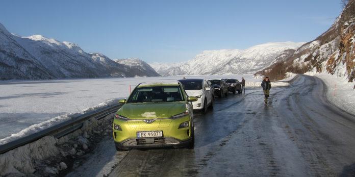 Vinterkulda er på vei, og det går utover rekkevidden til elbilene. (Foto: Norsk elbilforening)
