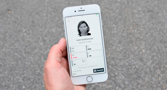 Nå kan du laste ned det digitale førerkortet. (Alle foto: Statens vegvesen)