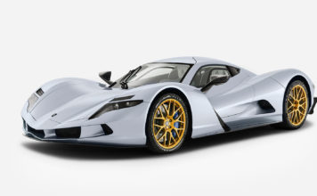 Dette er rett og slett verdens raskeste bil, Aspark Owl. (Alle foto: Aspark)