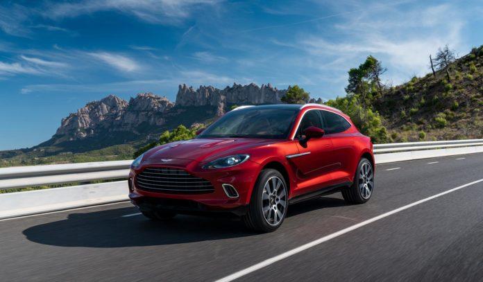 Aston Martin har lansert DBX, den første SUV-modellen til det britiske merket. (Alle foto: Aston Martin)