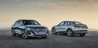 Audi kommer nå med en coupéversjon av elbilen e-tron. (Alle foto: Audi)