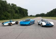 Cevrolet har drømt om en Corvette med midtmotor i 60 år. Her er noen av konseptene de har prøvd ut, CERV I, II og III. (Alle foto: Chevrolet)