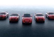 Mustang-familien har fått et nytt medlem, og denne er elektrisk og en SUV. (Alle foto: Ford)