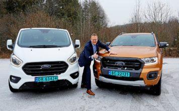 Sjefen for Ford Norge, Per Gunnar Berg, har god grunn til å smile. (Alle foto: Ford)