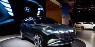 En av de mange nye modellene som vises under LA Auto Show er Hyundai Vision T Concept. (Alle foto: Newspress)