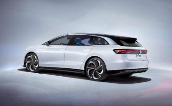 Volkswagen viser nå en elektrisk stasjonsvogn med en rekkevidde på 590 kilometer. (Alle foto: VW)