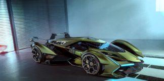 Dette er en bil som hører hjemme i den digitale verden. (Alle foto: Lamborghini)