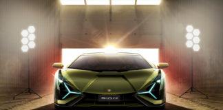 Om Lamborghini får det som de vil kan vi få elbiler uten batteripakker i framtiden. (Alle foto: Lamborghini)