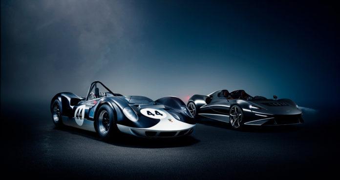 McLaren har sett til 60-tallet, og laget seg en superpotent roadster uten frontrute! (Alle foto: McLaren)