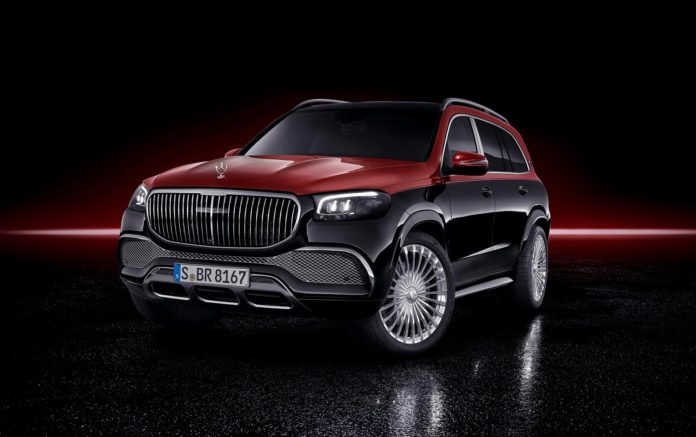 Mercedes-Maybach tar nå steget over til SUV-modellene, og kan by på en Mercedes-Maybach GLS 600. (Foto: Daimler)