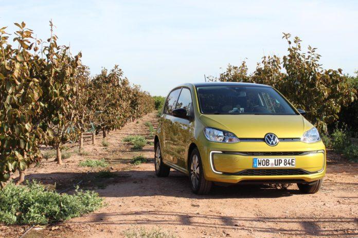 Vi har testet den nye Volkswagen e-Up. (Alle foto: Nybiltester)