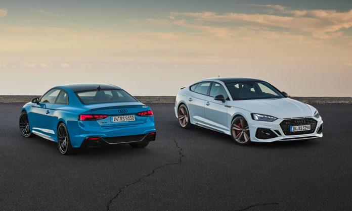 Audi Sport runder av 2019 med å vise fram to biler, RS 5 Coupé og RS 5 Sportback. (Alle foto: Audi)