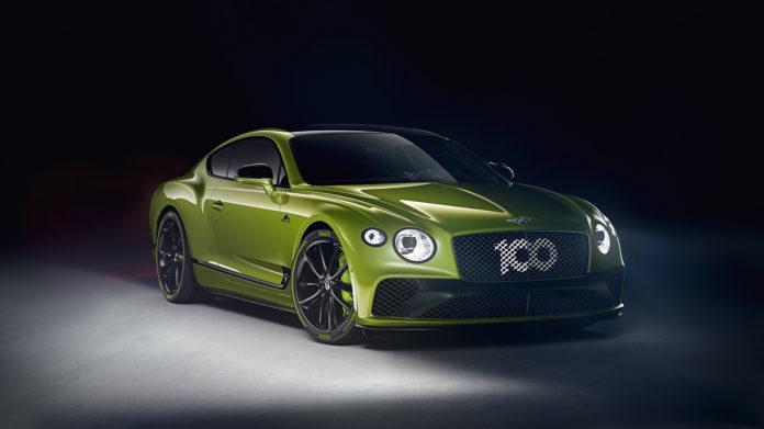 Bentley hyller nå Continental GT som satte rekord opp Pikes Peak. (Alle foto: Bentley)