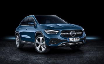 Her er modellen som både krymper og vokser, den nye Mercedes GLA. (Alle foto: Mercedes)