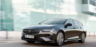 Opel gir nå Insignia en aldri så liten ansiktsløfting. (Alle foto: Opel)