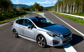 Subaru setter seg som mål om null trafikkdrepte i 2030, noe til dels selvkjørende biler skal sørge for. (Foto: Subaru)