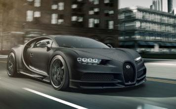 Bugatti slår til med to spesialversjoner av Chiron, og de er begge noire ‒ svarte. (Alle foto: Bugatti)