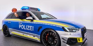 Denne Audien kunne nok mange politibetjenter tenkt seg å kjøre. (Alle foto: ABT)