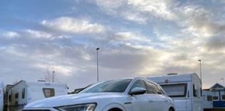 Hvordan står det til med forbruket til Audi e-tron? (Alle foto: Nybiltester)