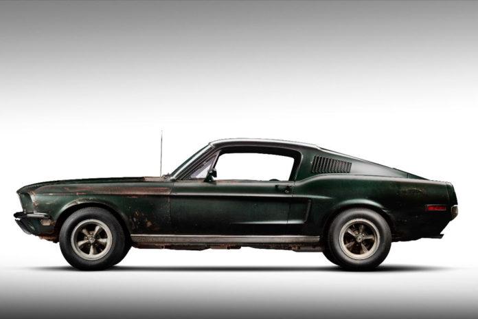 Verdens kuleste Ford Mustang er nå solgt. (Alle foto: Mecum Auctions)